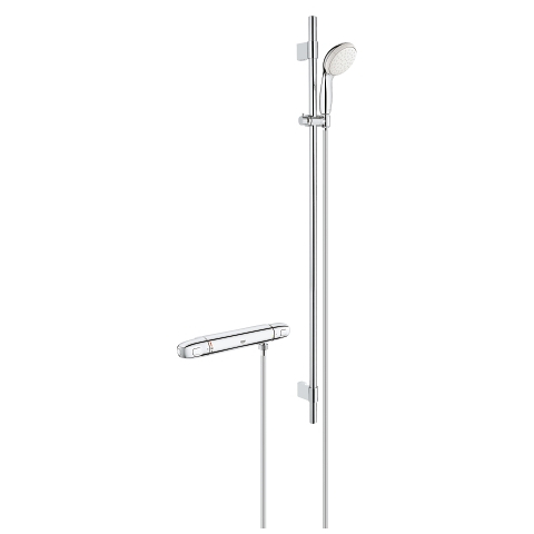 GROHE 34717003 Grohtherm 1000 Thermostat-Brausebatterie, 1/2